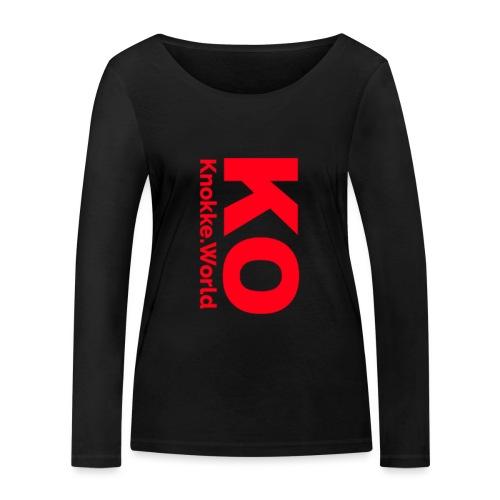 Knokke Mok - Vrouwen bio shirt met lange mouwen van Stanley & Stella