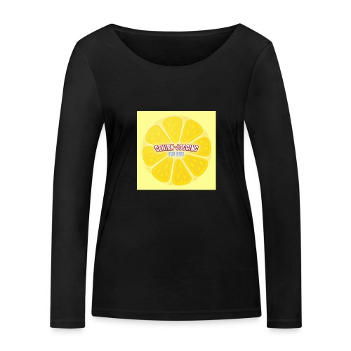 zitronetextur - Frauen Bio-Langarmshirt von Stanley & Stella