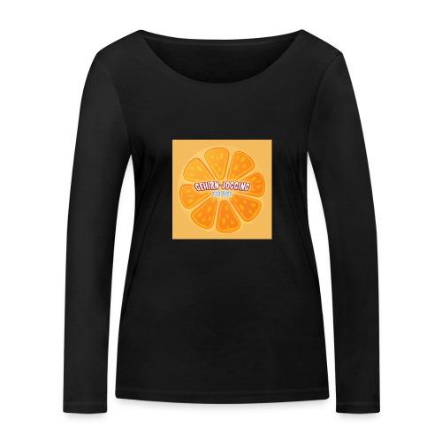 orangetextur - Frauen Bio-Langarmshirt von Stanley & Stella