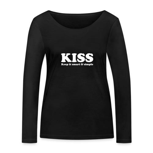 KISS - Frauen Bio-Langarmshirt von Stanley & Stella