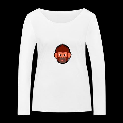 pogo clan Buttons & badges - Økologisk Stanley & Stella langærmet T-shirt til damer