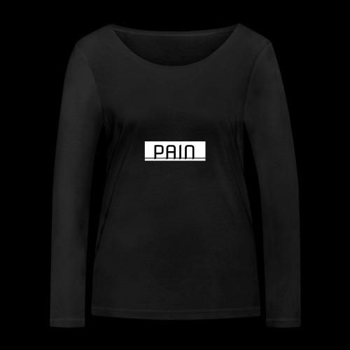 pain - Ekologiczna koszulka damska z długim rękawem Stanley & Stella