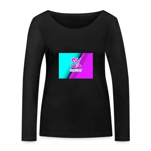 Sk Shirt - Vrouwen bio shirt met lange mouwen van Stanley & Stella