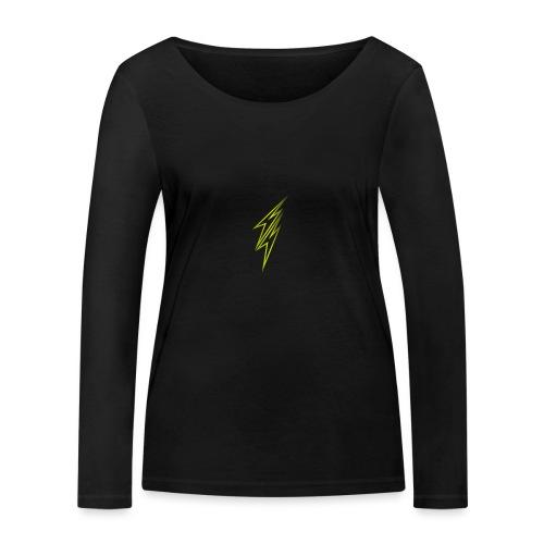 fulmine - Maglietta a manica lunga ecologica da donna di Stanley & Stella