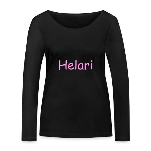 Helari Merch - Stanley & Stellan naisten pitkähihainen luomupaita