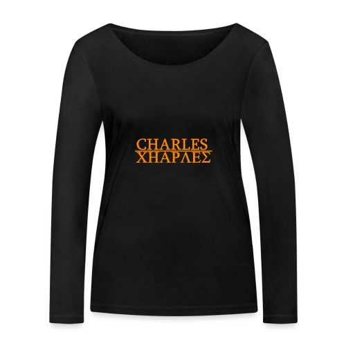CHARLES CHARLES ORIGINAL - Women's Organic Longsleeve Shirt by Stanley & Stella