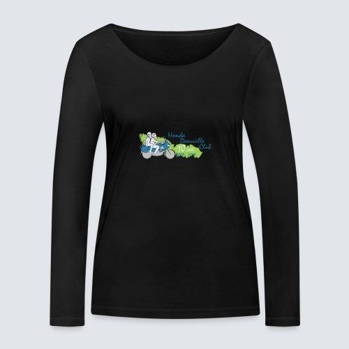 HDC jubileum logo - Vrouwen bio shirt met lange mouwen van Stanley & Stella