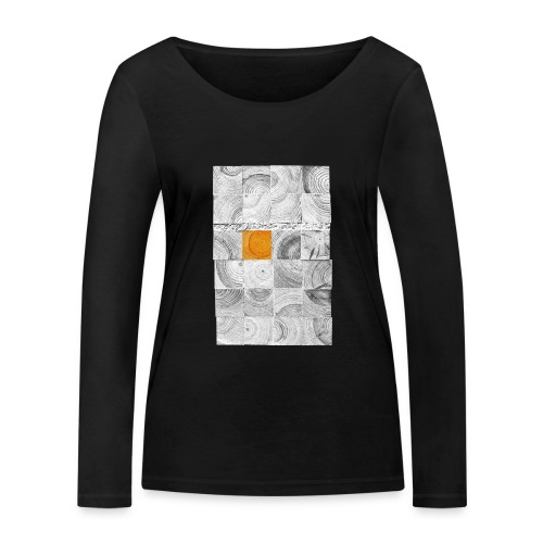 Cubes de Bois - T-shirt manches longues bio Stanley & Stella Femme