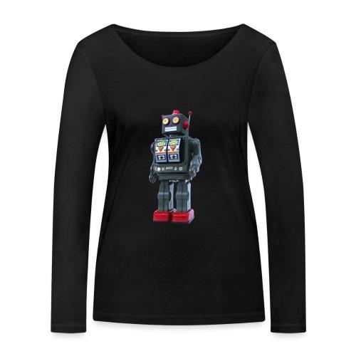 T-Shirt ROBOT - Maglietta a manica lunga ecologica da donna di Stanley & Stella