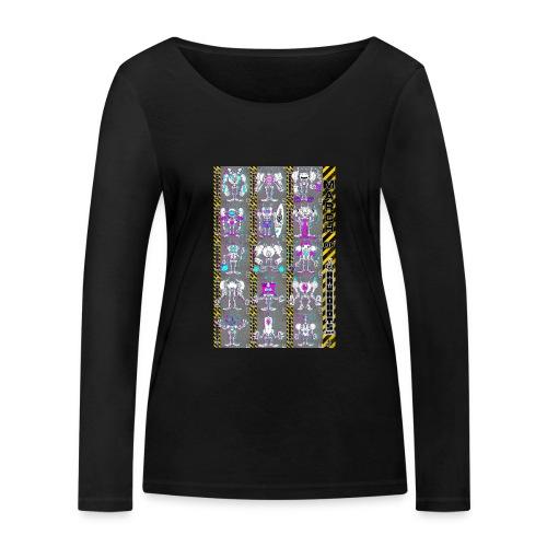 #MarchOfRobots ! NR 16-30 - Økologisk Stanley & Stella langærmet T-shirt til damer