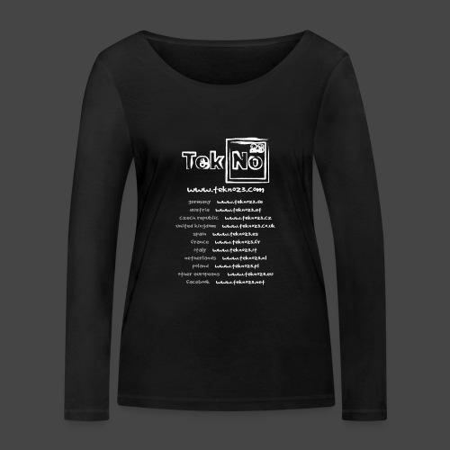 tekno23 - T-shirt manches longues bio Stanley & Stella Femme