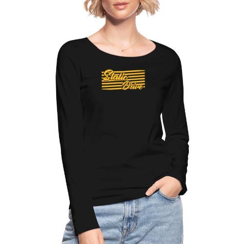 Static Drive - Frauen Bio-Langarmshirt von Stanley & Stella