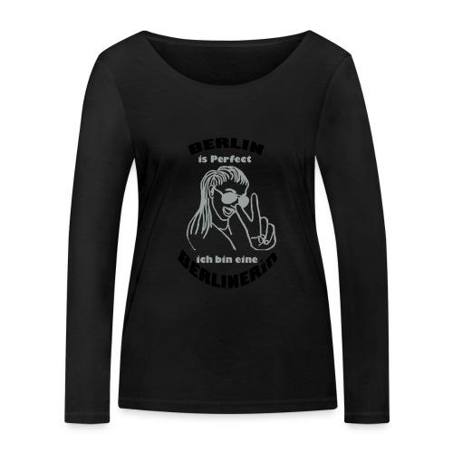 ich bin eine Berlinerin - Frauen Bio-Langarmshirt von Stanley & Stella