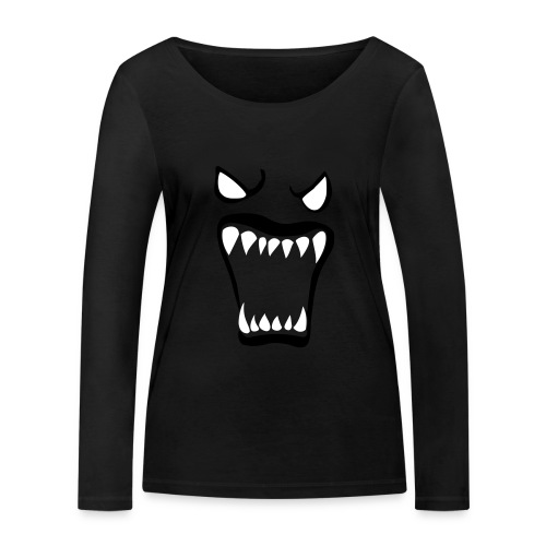 Monsters running wild - Ekologisk långärmad T-shirt dam från Stanley & Stella