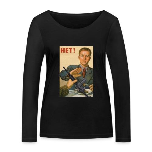 Njet M4 - Frauen Bio-Langarmshirt von Stanley & Stella