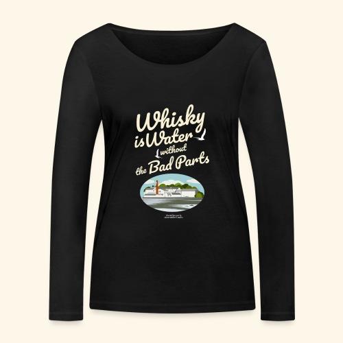 Whisky Is Water Brennerei - Frauen Bio-Langarmshirt von Stanley & Stella