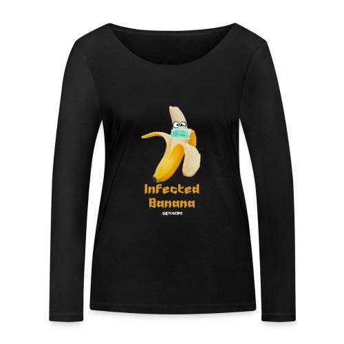 Die Zock Stube - Infected Banana - Frauen Bio-Langarmshirt von Stanley & Stella