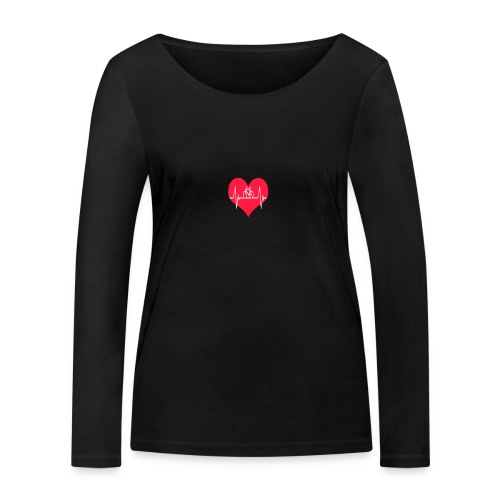 I love my Bike - Women's Organic Longsleeve Shirt by Stanley & Stella