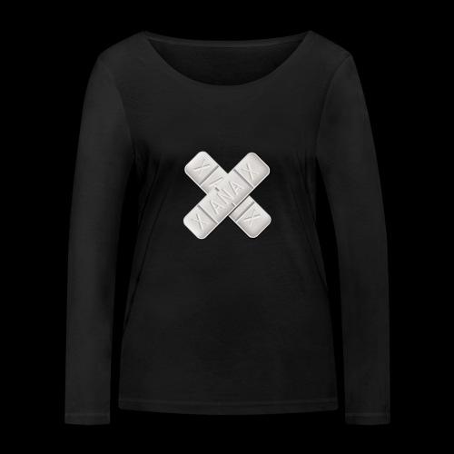 Xanax X Logo - Frauen Bio-Langarmshirt von Stanley & Stella