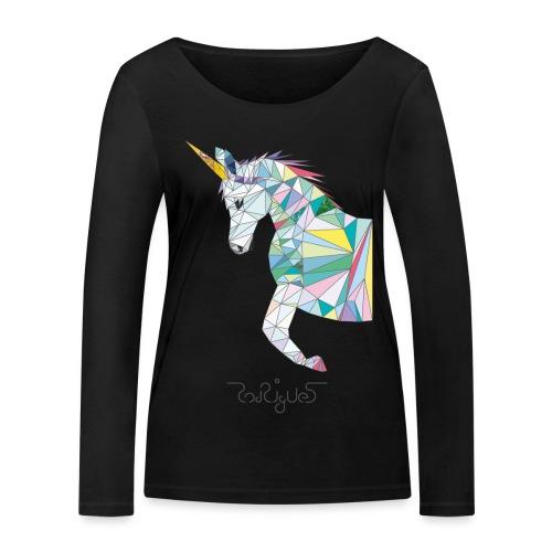 awesome unicorn - Frauen Bio-Langarmshirt von Stanley & Stella