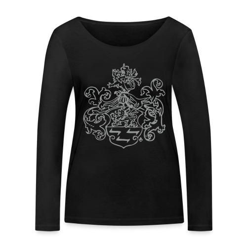 Wappen monochrom - Frauen Bio-Langarmshirt von Stanley & Stella
