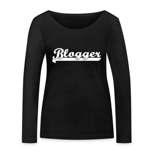 0186 Blogger | Blog | Website | Homepage - Women's Organic Longsleeve Shirt by Stanley & Stella