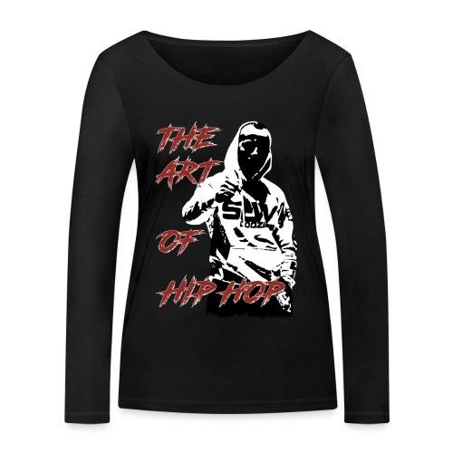 The art of hip hop - Ekologiczna koszulka damska z długim rękawem Stanley & Stella