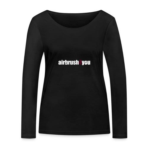 Airbrush - Frauen Bio-Langarmshirt von Stanley & Stella