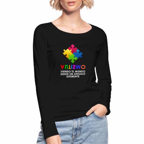 El Autismo según Yo soy Asperger - Camiseta de manga larga ecológica mujer de Stanley & Stella