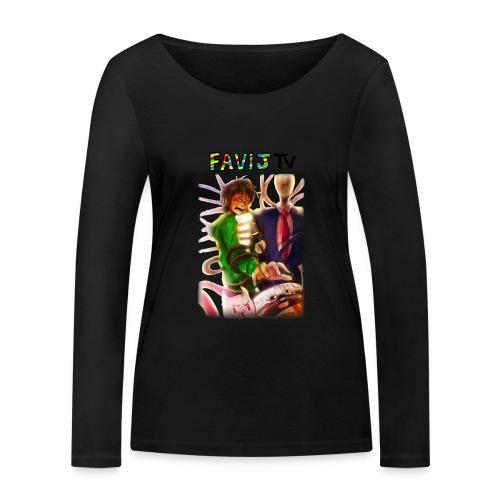 ShirtFinale png - Maglietta a manica lunga ecologica da donna di Stanley & Stella