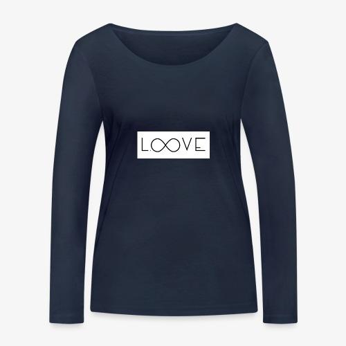 LOOVE Box Logo (SS18) - Maglietta a manica lunga ecologica da donna di Stanley & Stella