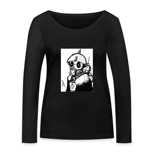 gas man - Camiseta de manga larga ecológica mujer de Stanley & Stella