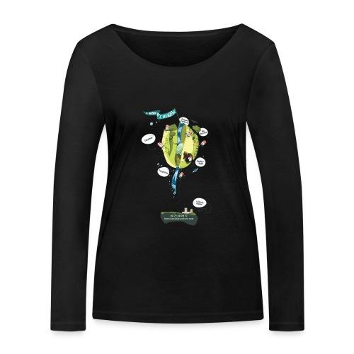 T-shirt Maison de L'aventure - T-shirt manches longues bio Stanley & Stella Femme