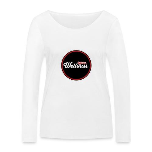 Wellouss Fan T-shirt | Rood - Vrouwen bio shirt met lange mouwen van Stanley & Stella
