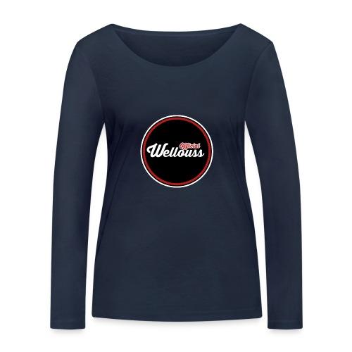 Wellouss Fan T-shirt   Rood - Vrouwen bio shirt met lange mouwen van Stanley & Stella