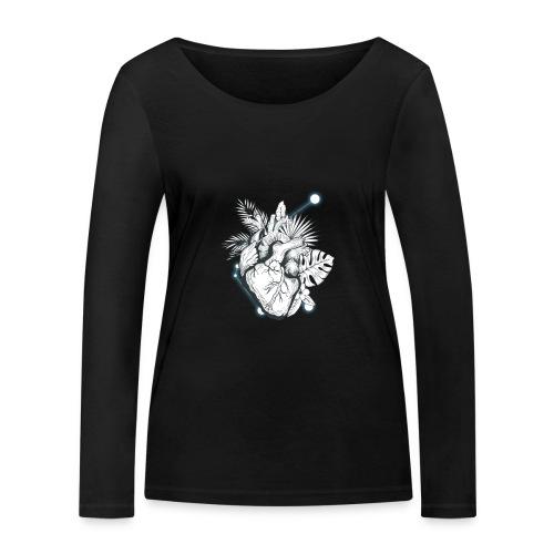 Cuore - Camiseta de manga larga ecológica mujer de Stanley & Stella