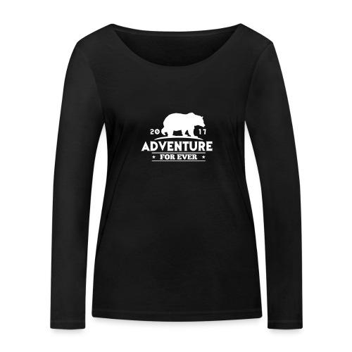 ADVENTURE FOR EVER - GRIZZLY - Maglietta a manica lunga ecologica da donna di Stanley & Stella