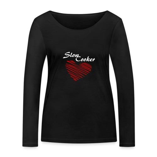 Slow Cooker - Frauen Bio-Langarmshirt von Stanley & Stella