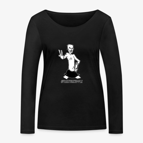 #freethenipple - Ekologisk långärmad T-shirt dam från Stanley & Stella