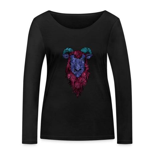 Sau - Økologisk langermet T-skjorte for kvinner fra Stanley & Stella