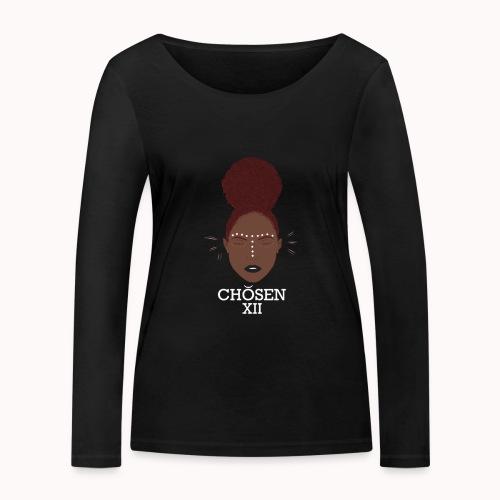 Edgy Ebony - Vrouwen bio shirt met lange mouwen van Stanley & Stella