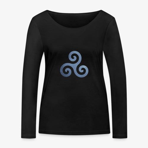 Trisquel 5 - Camiseta de manga larga ecológica mujer de Stanley & Stella