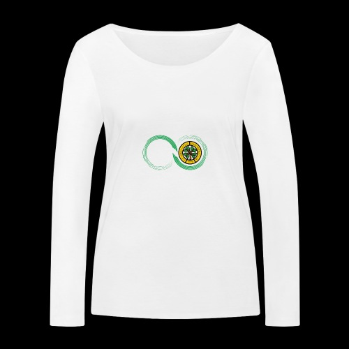 Harp and French CSC logo - T-shirt manches longues bio Stanley & Stella Femme