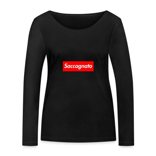 Saccagnato - Maglietta a manica lunga ecologica da donna di Stanley & Stella