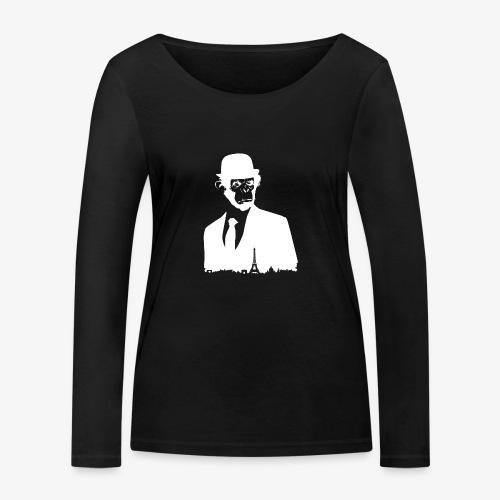 COLLECTION *WHITE MONKEY PARIS* - T-shirt manches longues bio Stanley & Stella Femme