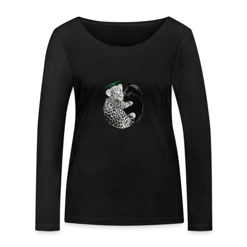 panther jaguar Limited edition - Økologisk Stanley & Stella langærmet T-shirt til damer