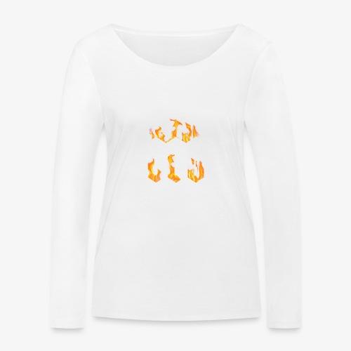 CLG DESIGN - T-shirt manches longues bio Stanley & Stella Femme