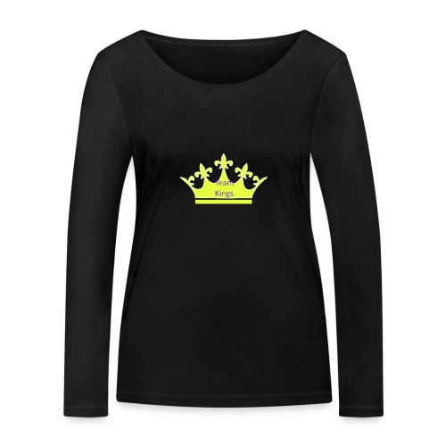 Team King Crown - Women's Organic Longsleeve Shirt by Stanley & Stella