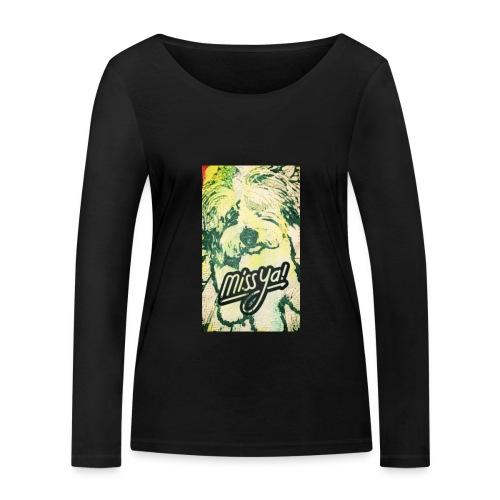 Musste, süsser Hund - Frauen Bio-Langarmshirt von Stanley & Stella