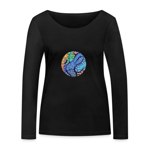 concentric - Women's Organic Longsleeve Shirt by Stanley & Stella